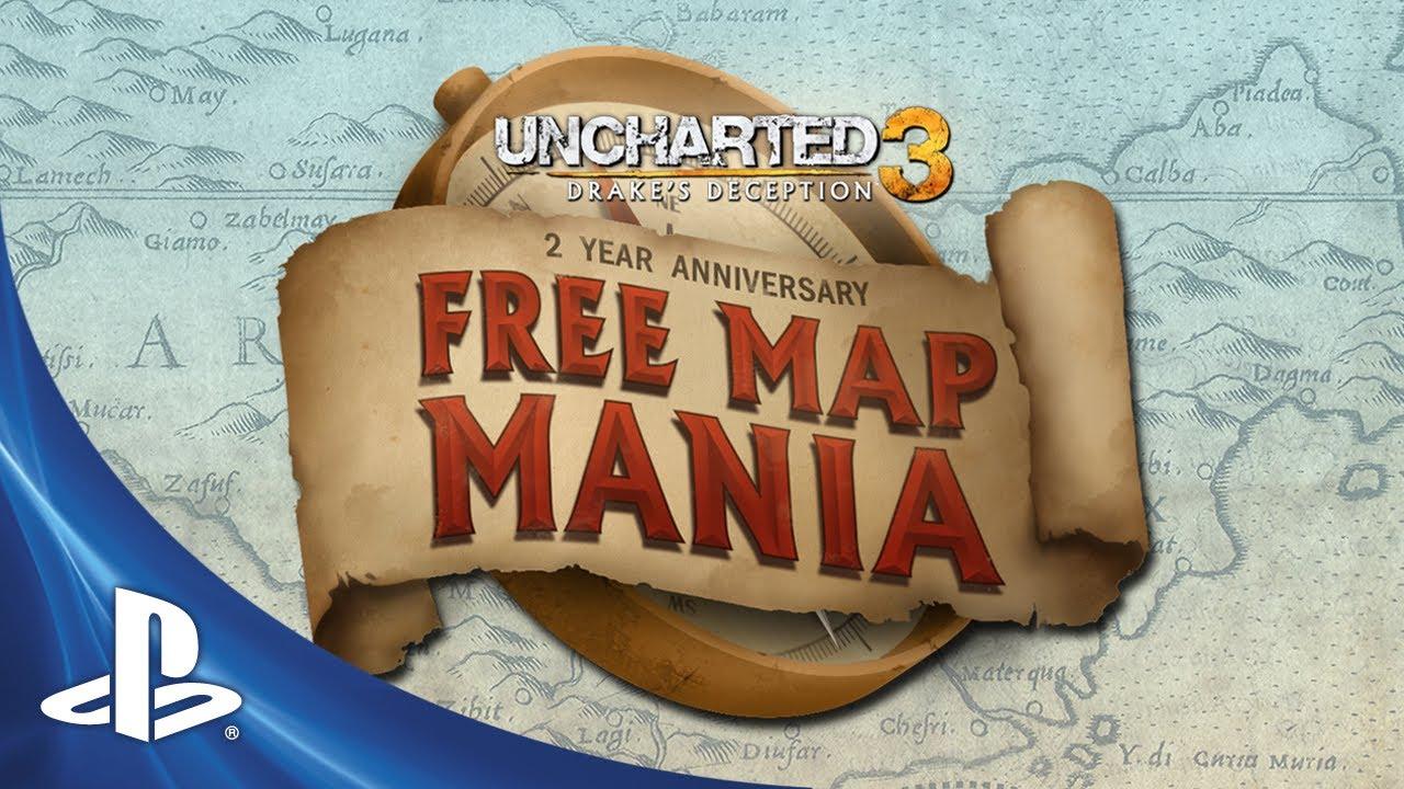 erilaisia värejä tehtaan aito laadukkaita tuotteita Uncharted 3 Celebrates Two-Year Anniversary with a New Map ...