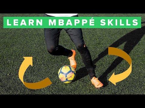 LEARN COOL MBAPPE FOOTBALL SKILLS