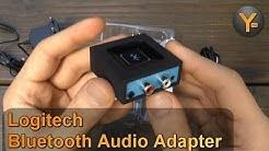 Review: Logitech Bluetooth Audio Adapter / Smartphone & Tablet an Stereoanlage anschließen