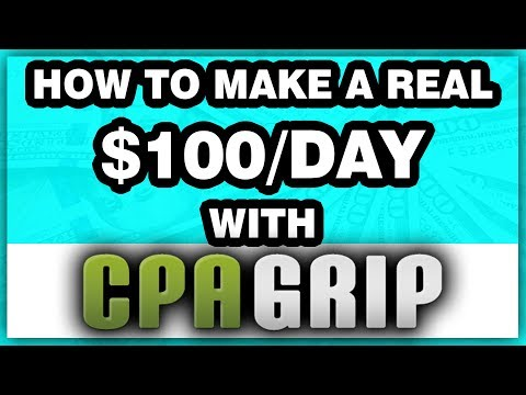 CPA GRIP $100/DAY With FREE Traffic Offer Promotion (FULL Content Locker Tutorial)
