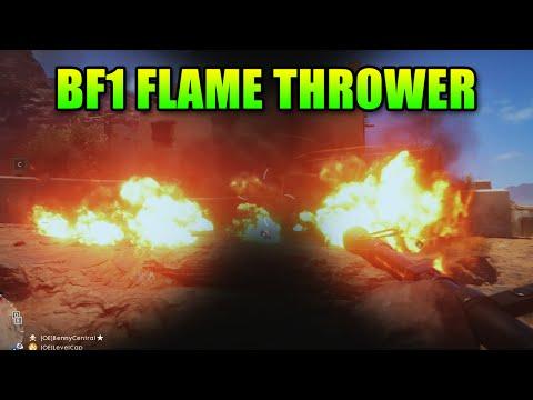 Battlefield 1 Flame Thrower, Horse, Train & Artillery Truck | Exclusive Gamescom Gameplay