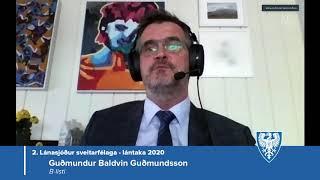 Fundur bæjarstjórnar 21. apríl 2020