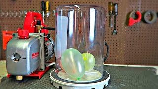What Will Happen If You put Balloons in a Vacuum?