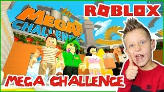 This Mega Challenge is Too HARD / Roblox