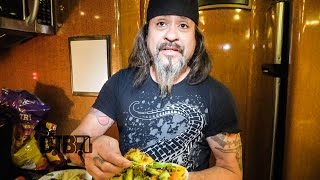 Overkill Makes 'Bus Nachos' - COOKING AT 65MPH Ep. 26