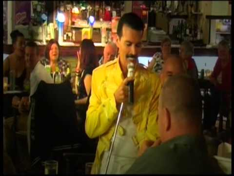 Lizzie's HH Surprise Cabaret on Saturday Night at Walton Sept 2013 Freddie Mercury tribute Queen B