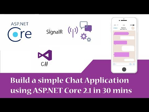 Chat Application Using ASP.NET Core With SignalR