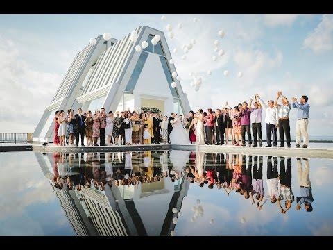 Holy Wedding Bali | Eka and Anastasya | The Rich Prada Hotel Pecatu | Dream Land Bali