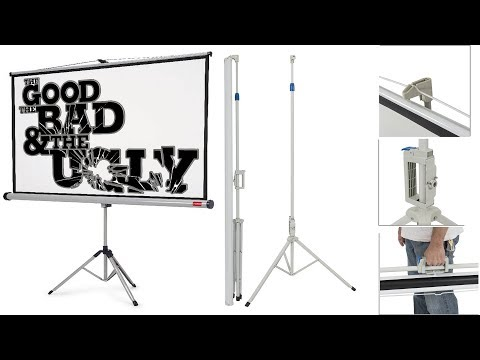 DJ Chocolate Monkey   Uboxing / Review   Portable Tri-Pod Projector Screen KARAOKE   MOVIES   GAMING
