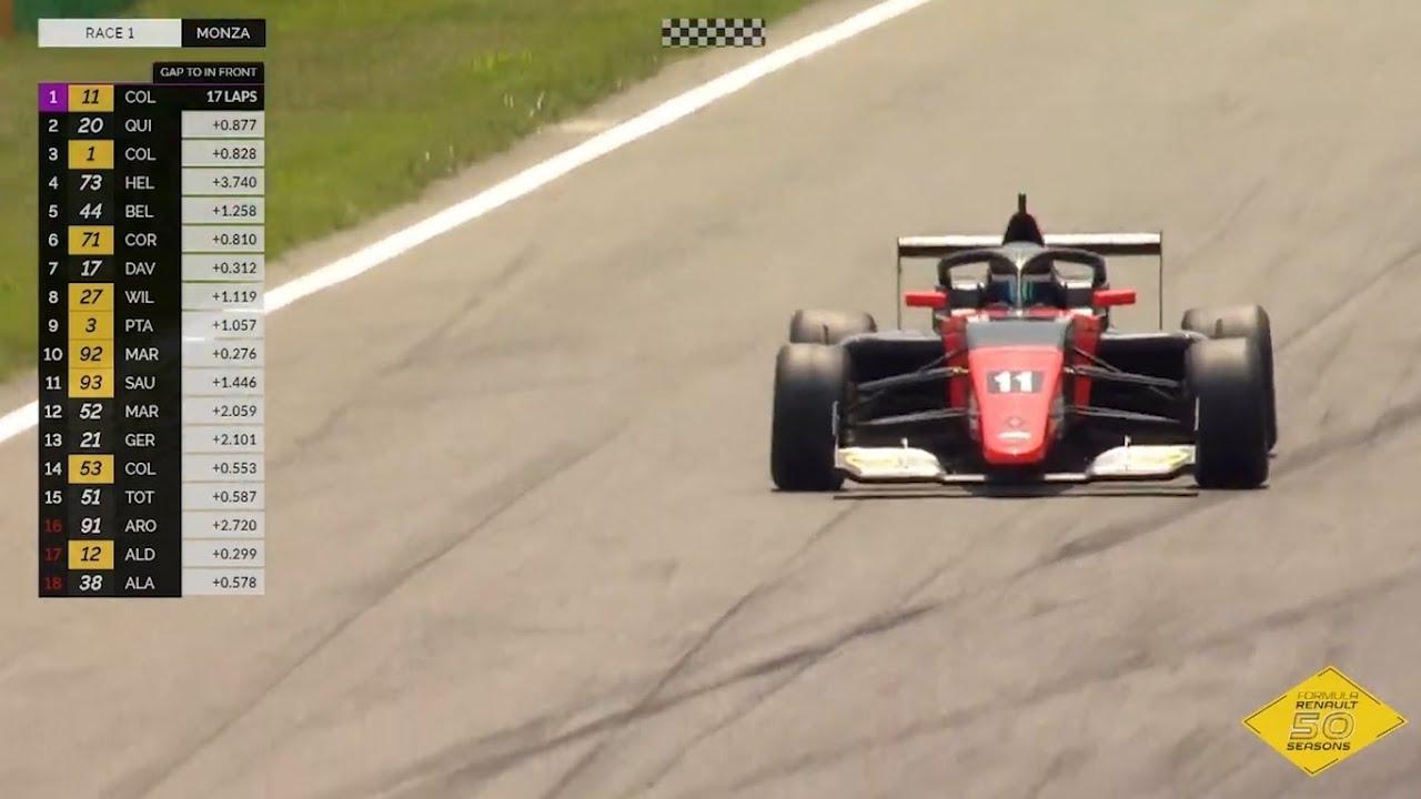 Primera victoria de Colapinto en la Fórmula Renault Europea