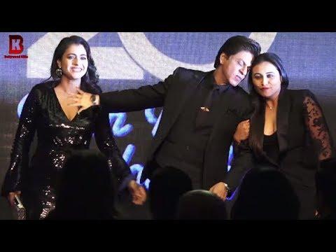 Kajol, Rani Mukerji, Shahrukh Khan Arrives At 20 Year Of Kuch Kuch Hota Hai