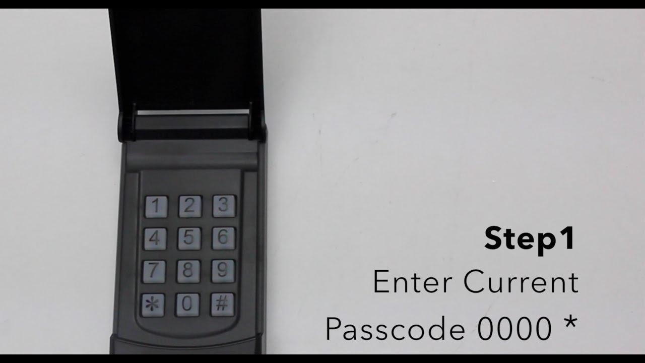 Skylink Keyless Entry Model Kn 318 Changing Passcode Youtube
