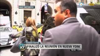 Visión 7 - Fondos buitre: Finalizó la reunión en Nueva York