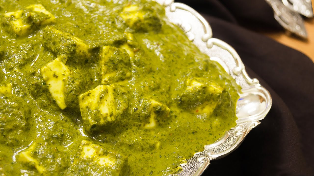 Palak paneer recipe dhaba style indian main course youtube forumfinder Images