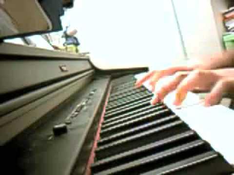 Oasis - Sunday morning call piano arrangement