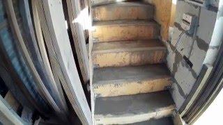 Бетонная лестница своими руками  Заливка бетона Часть 6