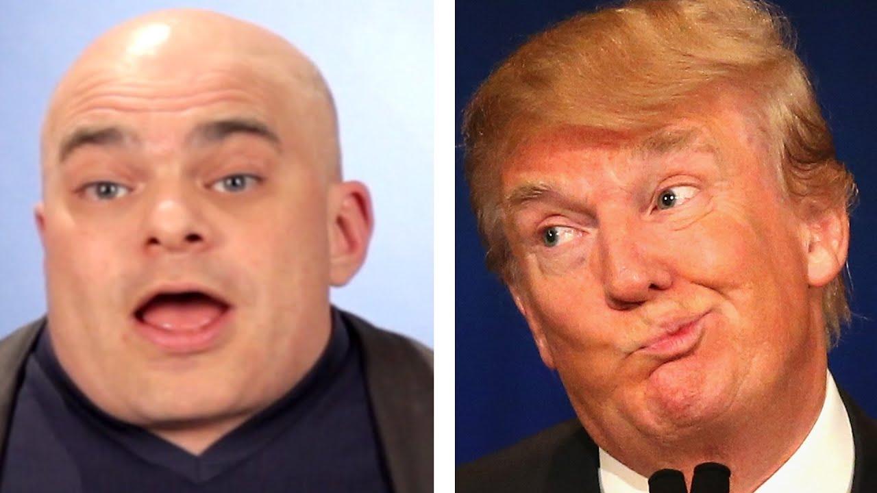 People With Disabilities Make Fun Of Donald Trump | Doovi