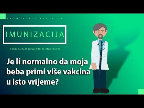 IMUNIZACIJA - Je li normalno da moja beba primi više vakcina u isto vrijeme?