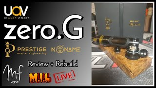Aspire Zero.G designed by Noname - Live review & rebuild - Timestamps in Description