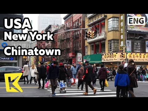 【K】USA Travel-New York[미국 여행-뉴욕]세계 어디에나 있는 차이나타운/Chinatown/Columbus Park//Museum Of Chinese