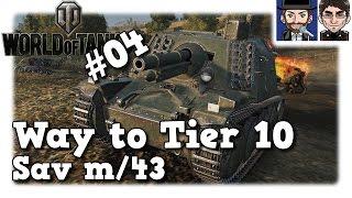 WoT - Sav m/43, Stock im Tier 4 Schweden TD #04 [Way to Tier 10 | live | Let's play]
