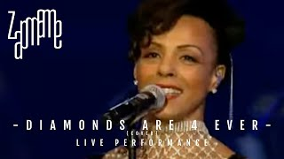Diamonds are 4 Ever Marie Daulne 007 Concert
