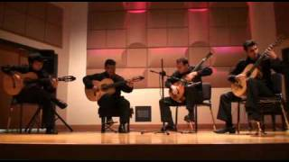 Mir Ali & The Miami Guitar Trio play Piazzolla