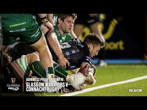 Guinness PRO14 Round 16 Highlights: Glasgow Warriors v Connacht Rugby
