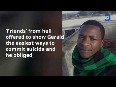 A Kenyan man invites friends for his burial, then commits