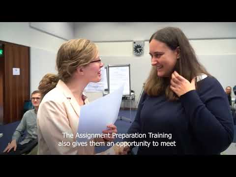 UN Youth Volunteer pre-assignment training