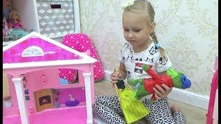 УРА!!! Алисина МЕЧТА СБЫЛАСЬ !!! Домик Барби с лифтом в огромная коробка с сюрпризом!