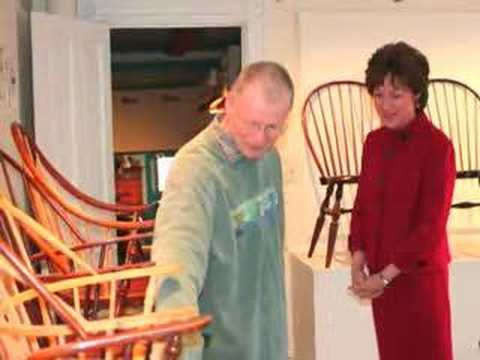 Susan Collins visits Windsor Chairmakers