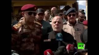 حيدر العبادي في الموصل