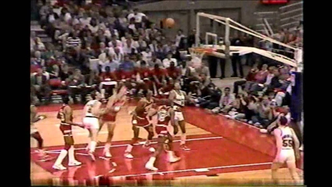 """Jim Paxson """"finger roll from about 9 feet"""""""