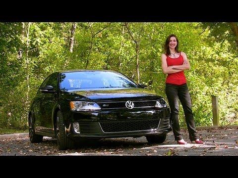 2012 VW Jetta GLI Test Drive & Car Review by RoadflyTV with Elizabeth Kreft