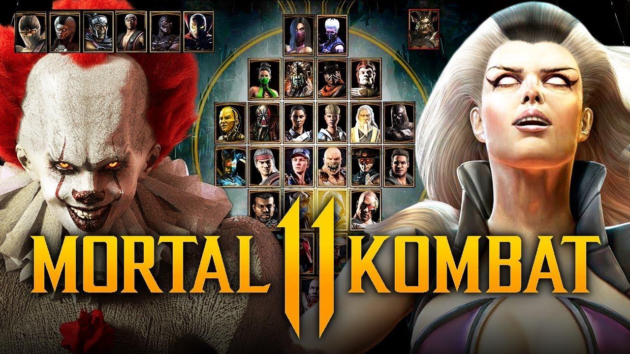 Mortal Kombat 11 Kombat Pack Dlc Character Wishlist
