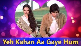 Yeh Kahan Aa Gaye Hum - Silsila || Lata Mangeshkar, Amitabh  Bachchan - Valentine's Day Song