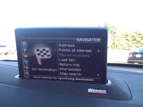 portland volvo demonstrates factory navigation system in new 2010 rh youtube com Belt Routing 2007 Volvo XC90 2007 Volvo XC90 Problems
