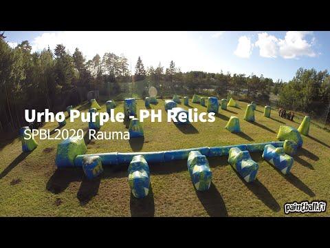 Urho Purple vs PH Relics - SPBL2020 Rauma