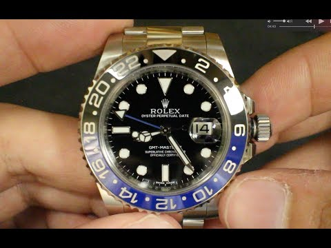 "Rolex ""Batman"" BLNR GMT Master II 116710 Review"