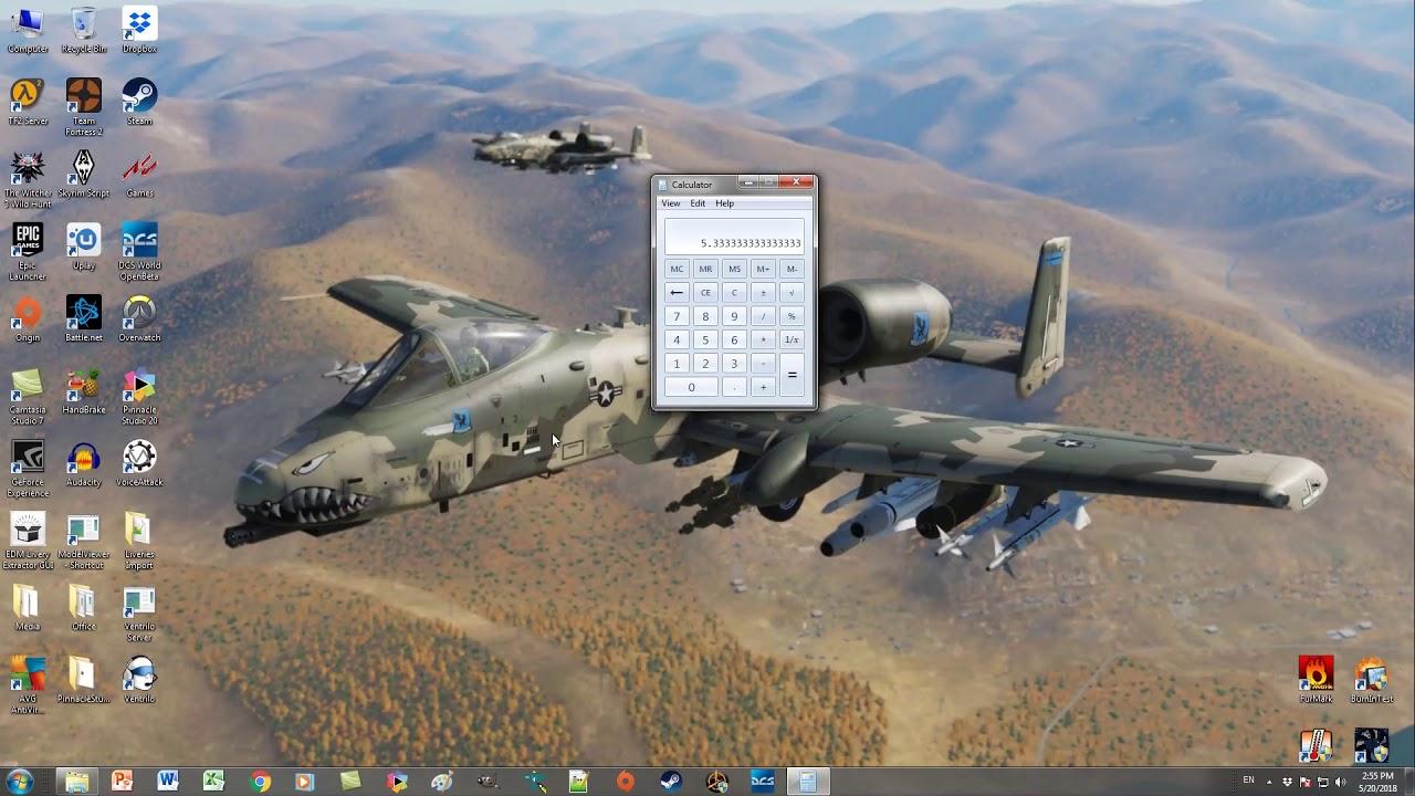 DCS Multi-Monitor Setup