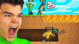 Playing SPEEDRUNNER vs. 2 HUNTERS! (Minecraft)