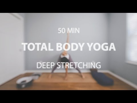 total body yoga  deep stretch for flexibility and sore