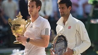 Wimbledon: How did Andy Murray & Novak Djokovic get to Centre Court?