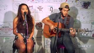 Alex & Sierra - All For You (Live at Yahoo Music)