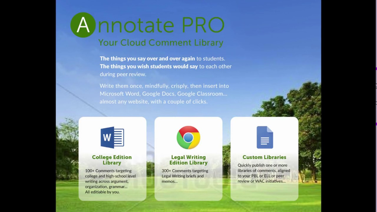 Quick overview using annotate pro with google docs to create quick overview using annotate pro with google docs to create feedback faster ccuart Image collections
