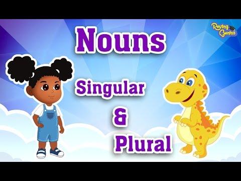Singular & Plural Nouns by Adding S | English Grammar For Kids with Elvis | Grade 1 | #8