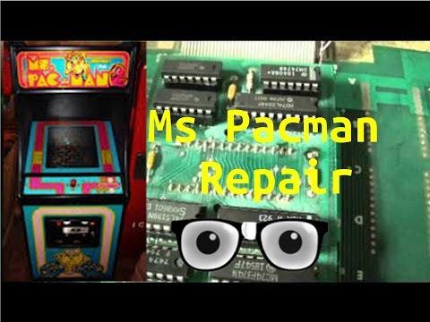 Ms Pacman Repair