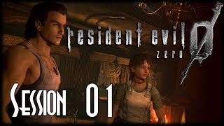 Let's Blindly Stream Resident Evil Zero HD REMASTER! - Session 01 of 04 - The Train