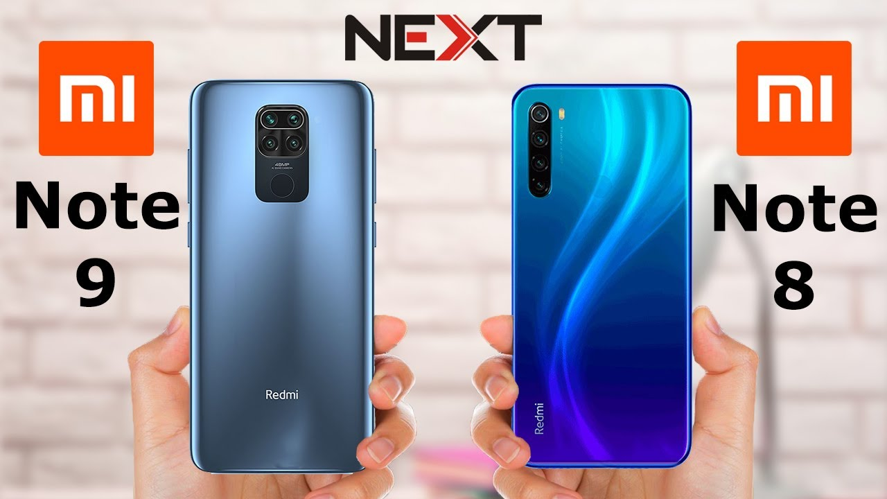 Redmi Note 9 vs Redmi Note 8